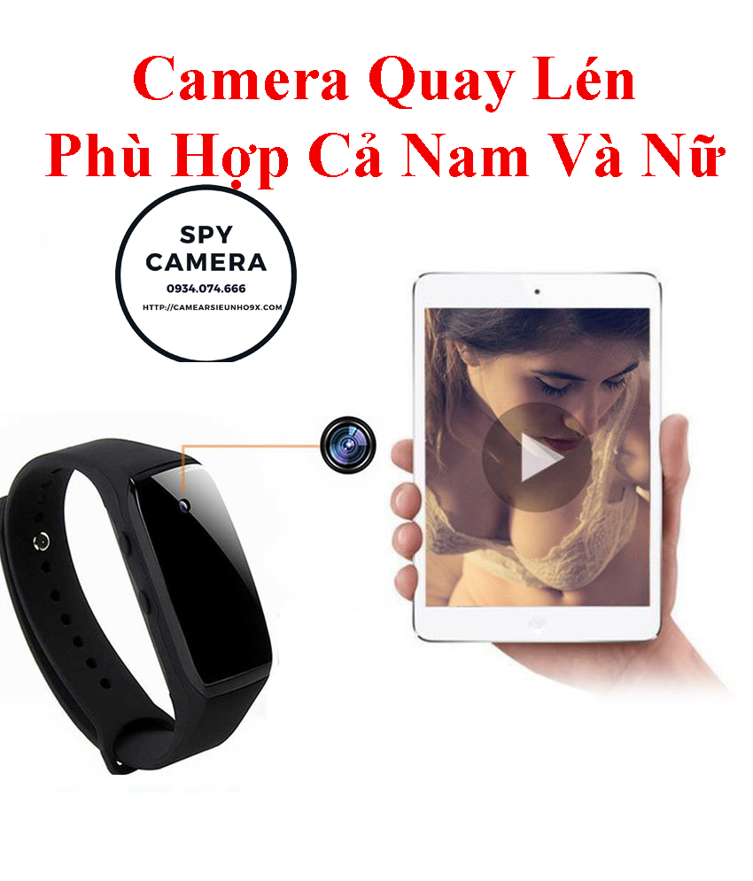 Vòng đeo tay camera G19 bộ nhớ 16Gb ,Đồng Hồ camera cho nữ, camera quay lén phù hợp nam nữ