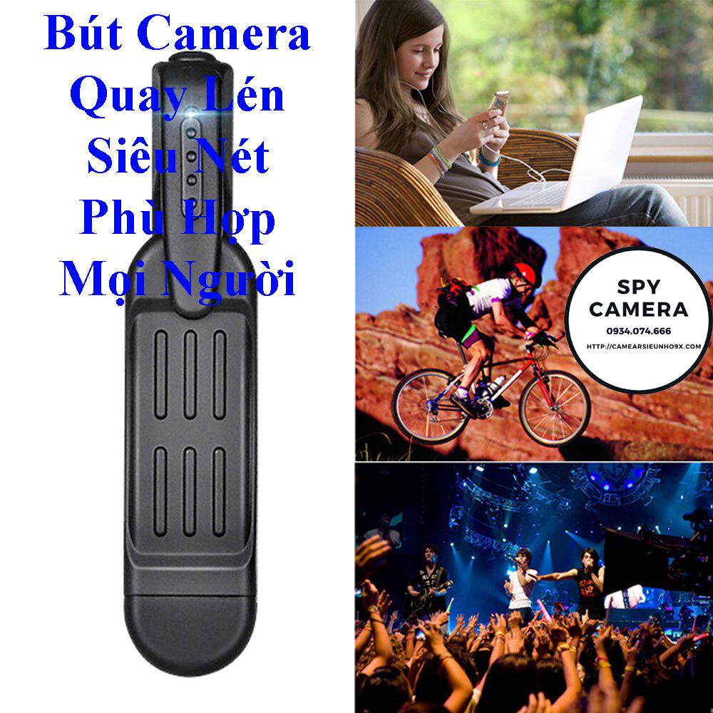 Bút Camera T189 Quay Phim Full HD Chọn Chế Độ Quay Hoàn Hảo